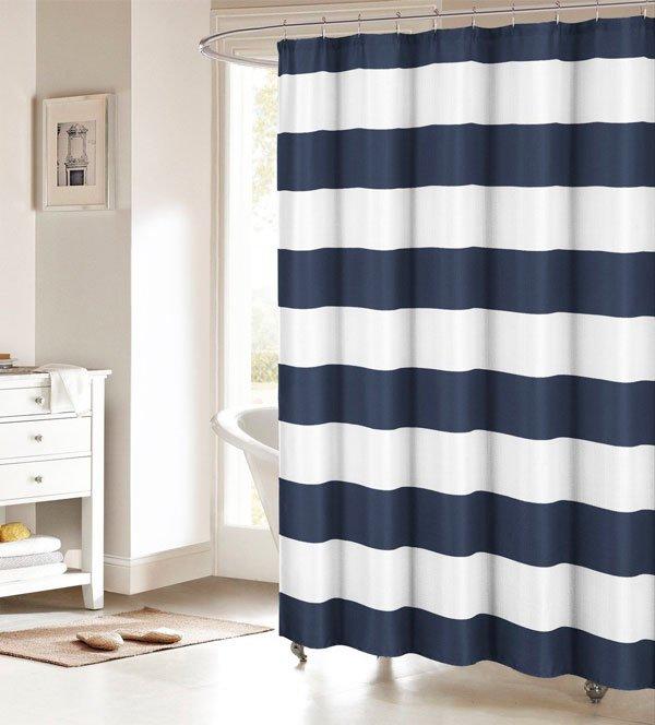 Полиэстеровая шторка для ванны