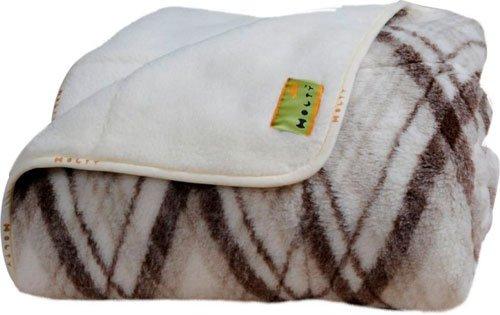 Цельно тканное одеяло из овечий шерсти