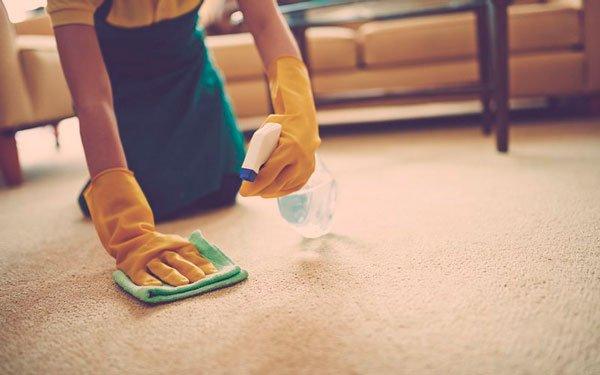Воспользуйтесь пуливизатором для удобства во время чисти ковра