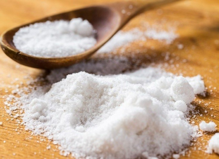 Ложка с солью