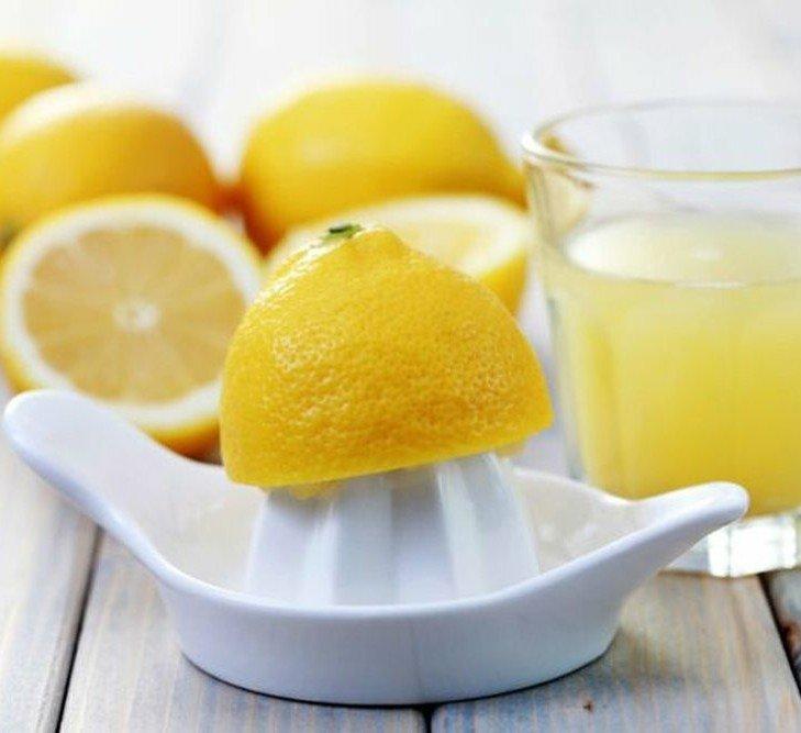 выведение ягодных пятен лимоном